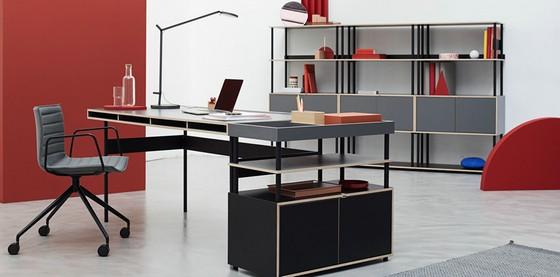 模块化的办公室家具STUDIO:专为个性和创造力而设计